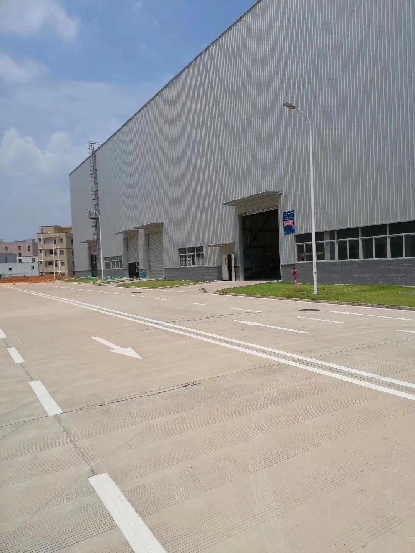 深圳附近现成航车8米高钢构厂房仓库12000平方出租
