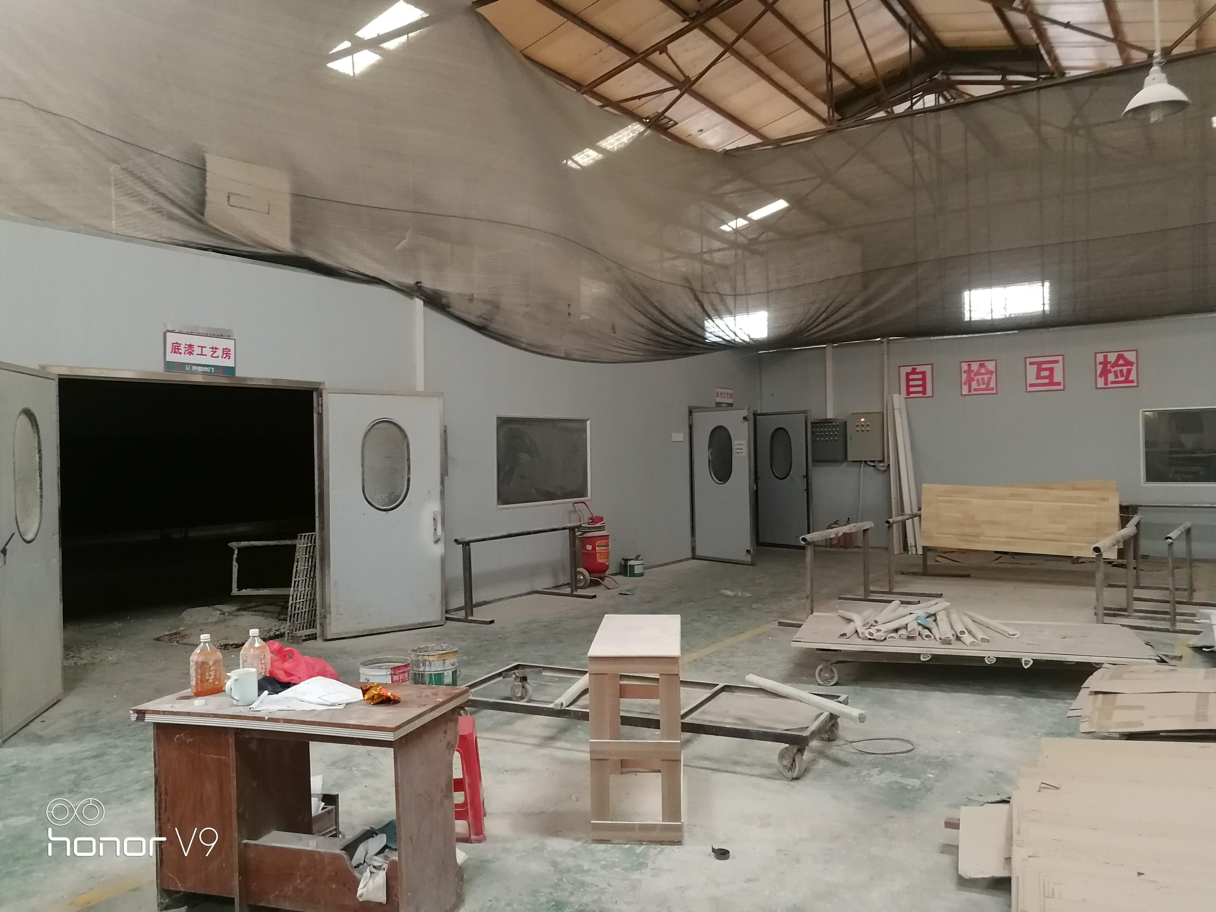 佛山里水独门独院单一层,有现成喷油喷粉环评指标,红本厂房