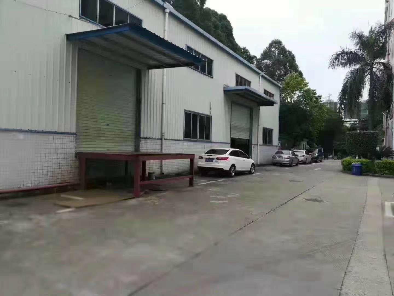 龙华清湖独门独院钢结构厂房仓库一楼1200平方招租