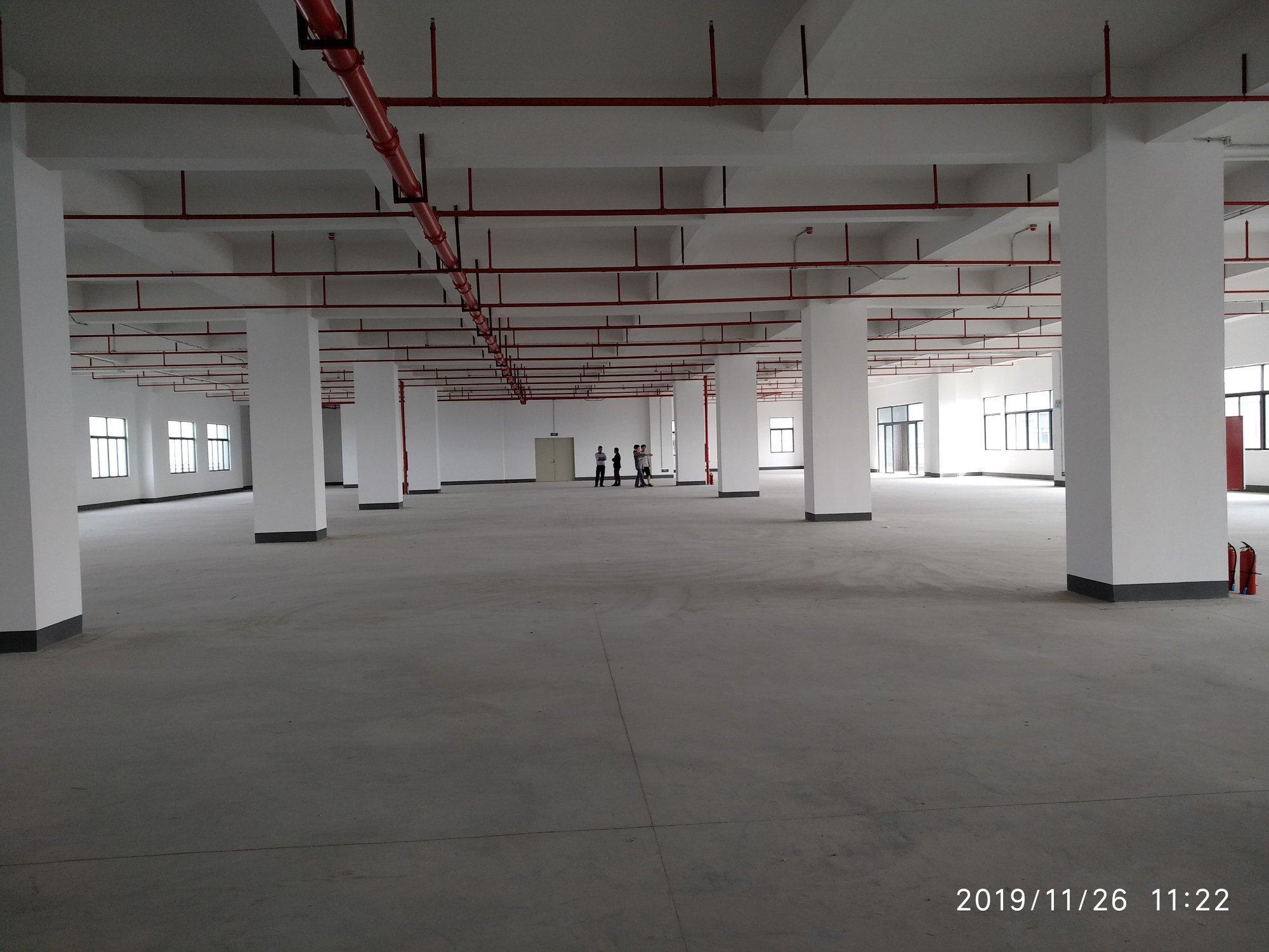 虎门镇全新电商仓库重工厂房3000平米/层出租