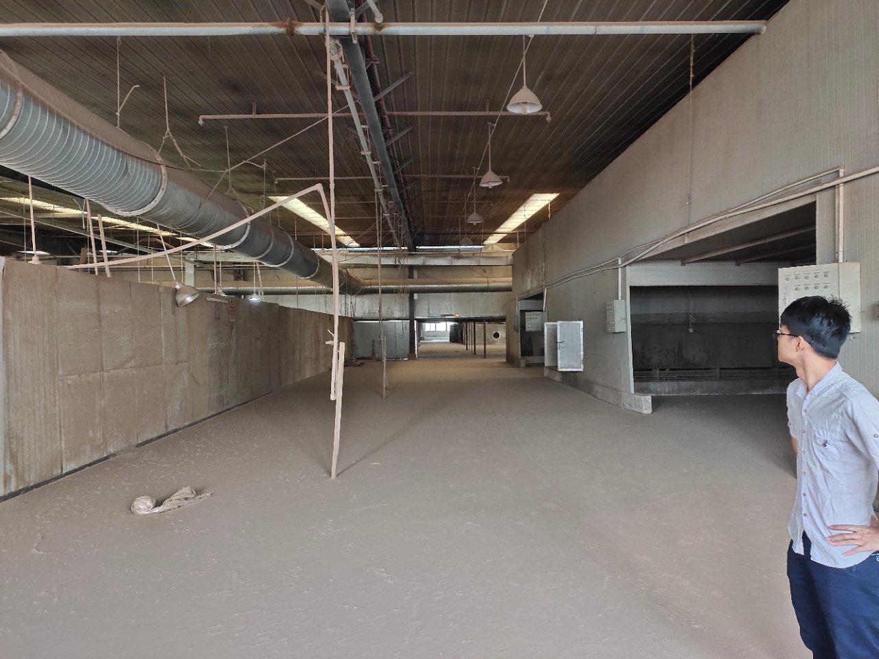 鹤山市新出标准厂房12000方现成家具环评打磨房粉尘处理线-图4
