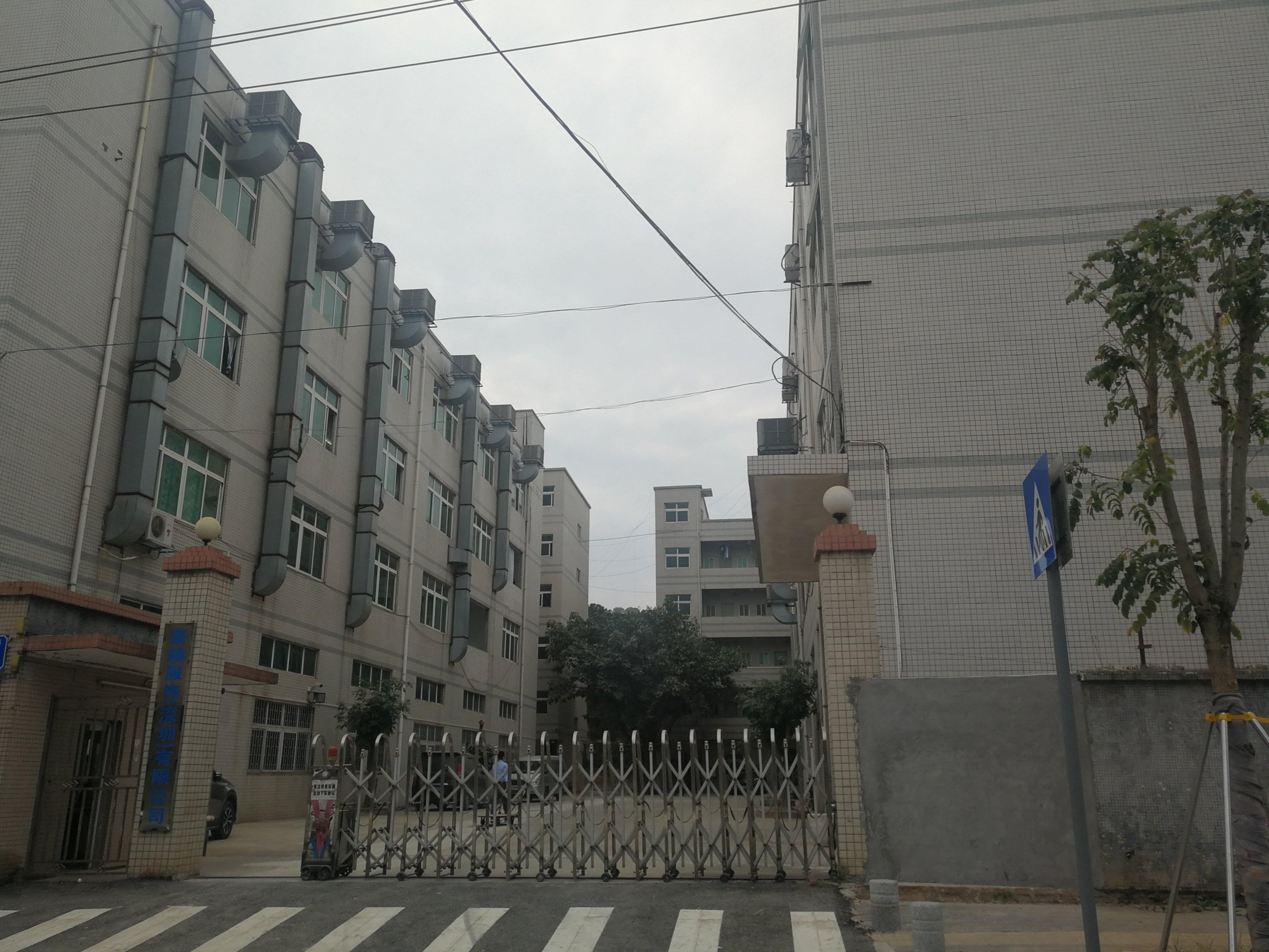 深圳横岗大路旁12800平标准国有证厂房出售