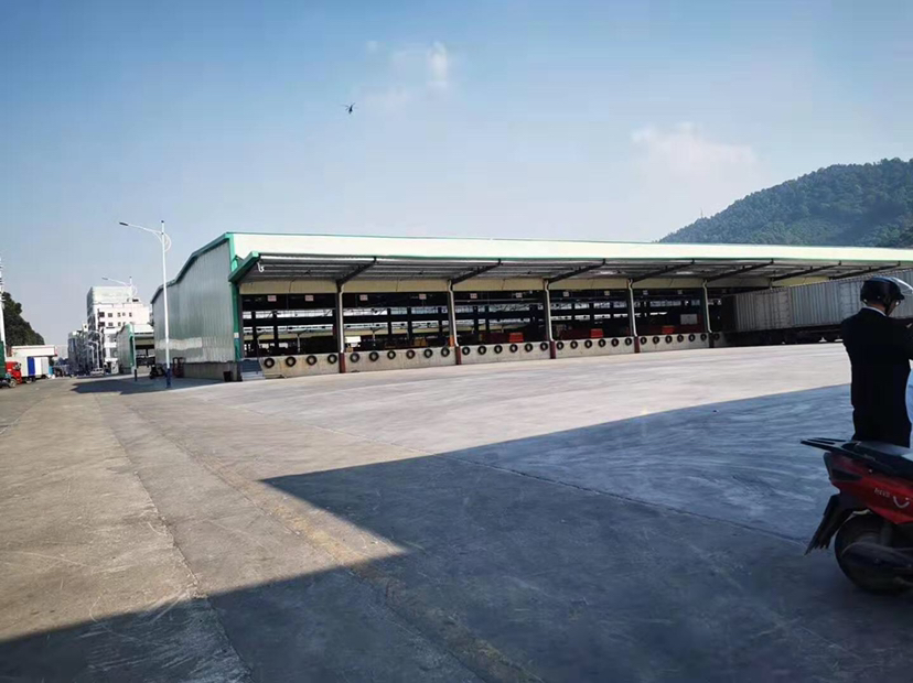 高速出口标准物流仓出租高台仓双面卸货平台-图3