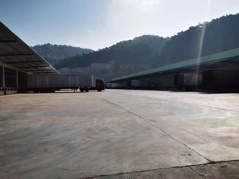 高速出口标准物流仓出租高台仓双面卸货平台-图5