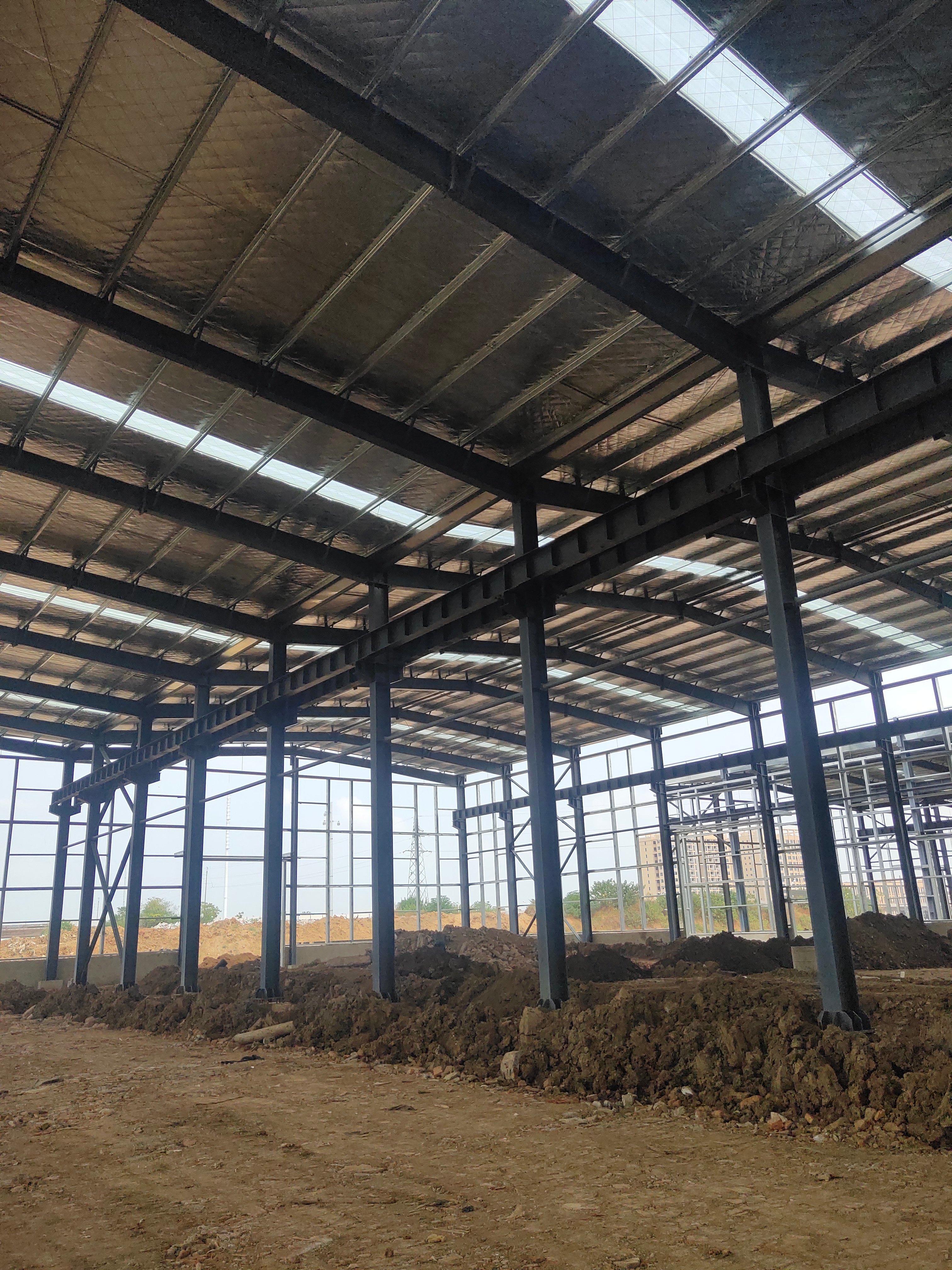 黄陂2万钢构+20亩土地,全新一手出售