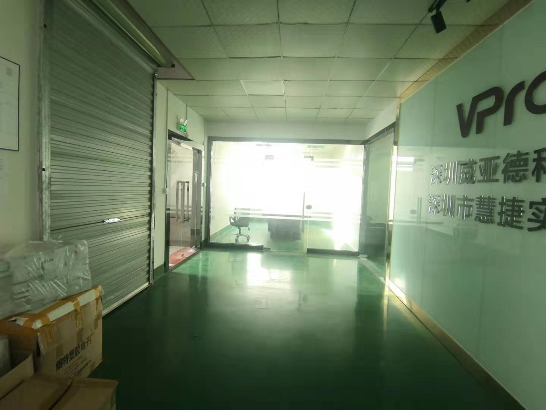 龙华新区大浪上横朗新出整层办公厂房1500平,水电到位