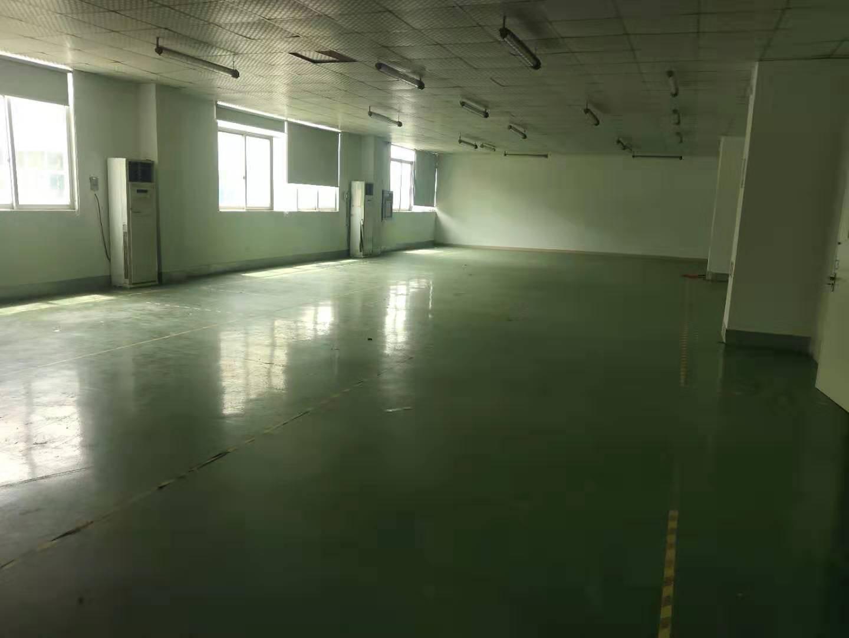 福永新和楼上整层无尘车间1900平方厂房出租