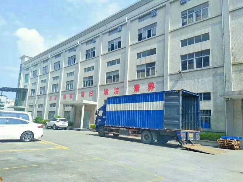 广州南沙占地13320㎡建筑16884㎡花园式双证厂房出售