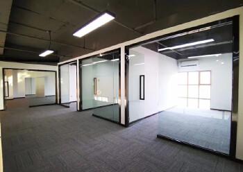 坂田10号线地铁口甲级写字楼复式豪华装修235平图片5