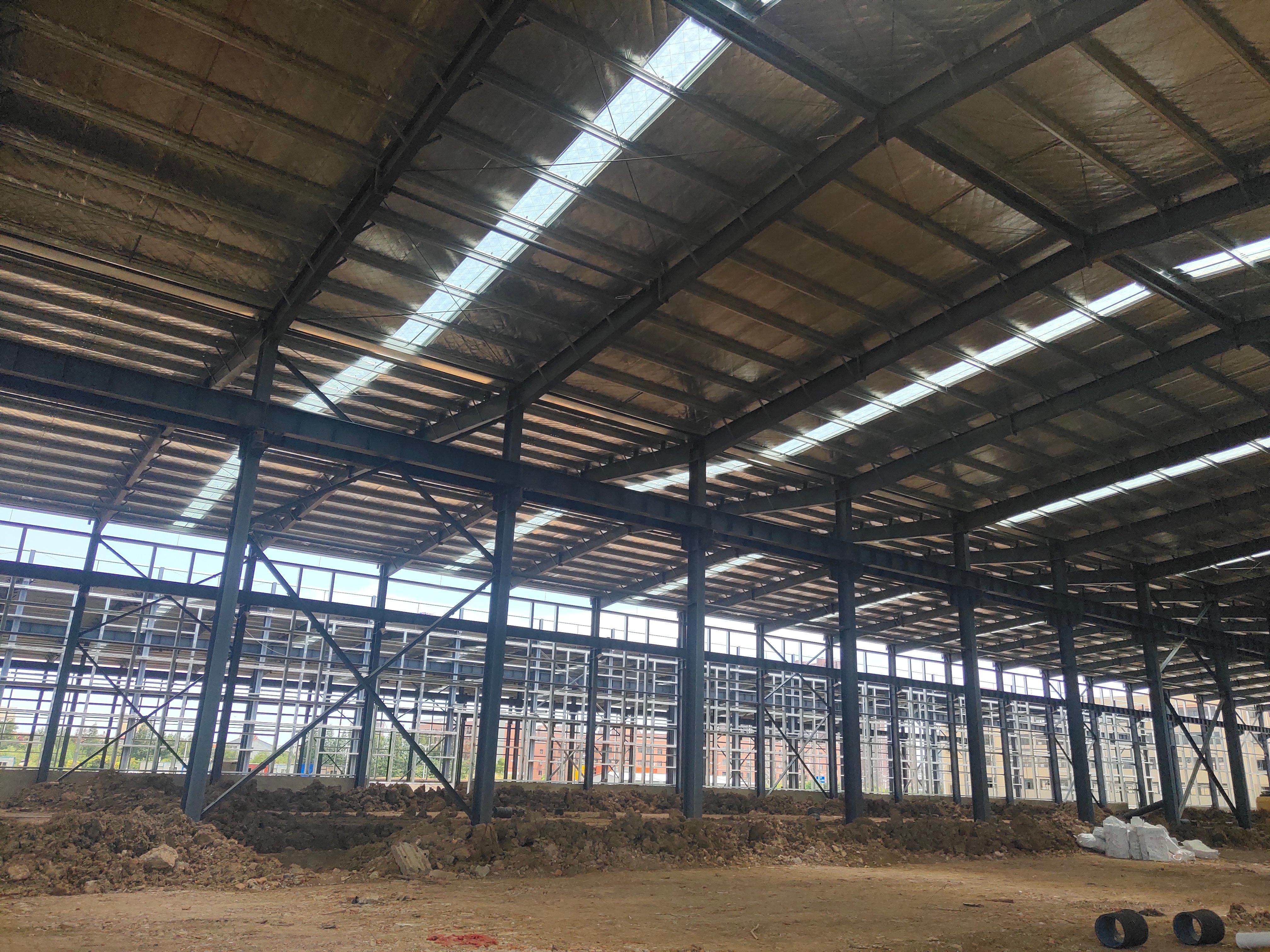 黄陂2万平米钢构整体出售+售20亩工业用地