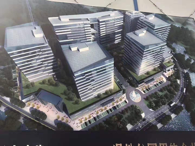 沿江高速出口全新红本工业园厂房可分层出售,园区占48686平