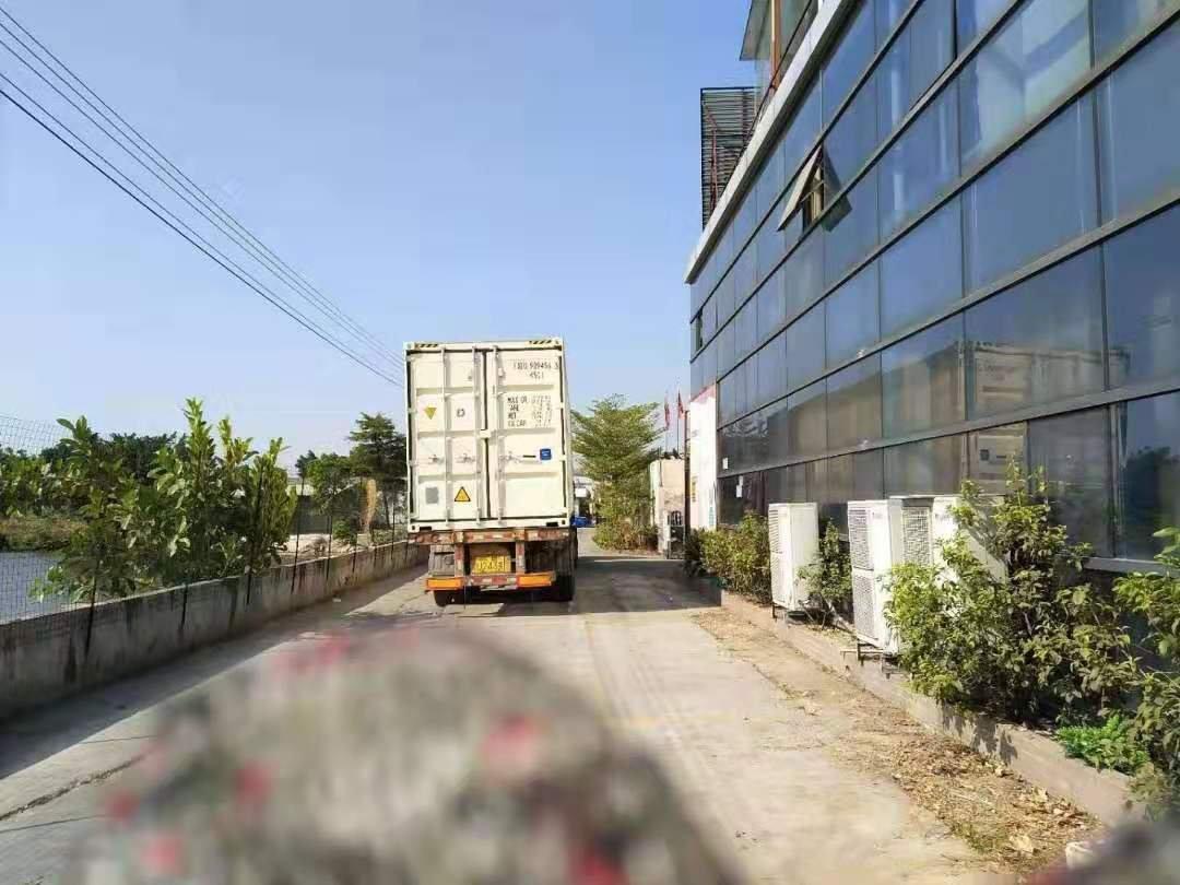 海珠琶洲原房东一线江景独院5800平厂房出租,宿舍食堂配套