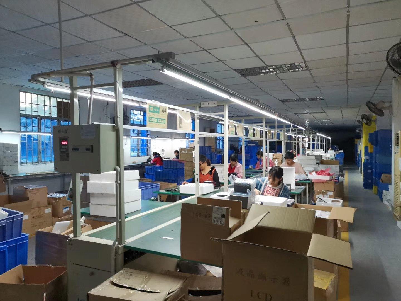 荷坳地铁站新出厂房面积1200平方,带现成办公室装修