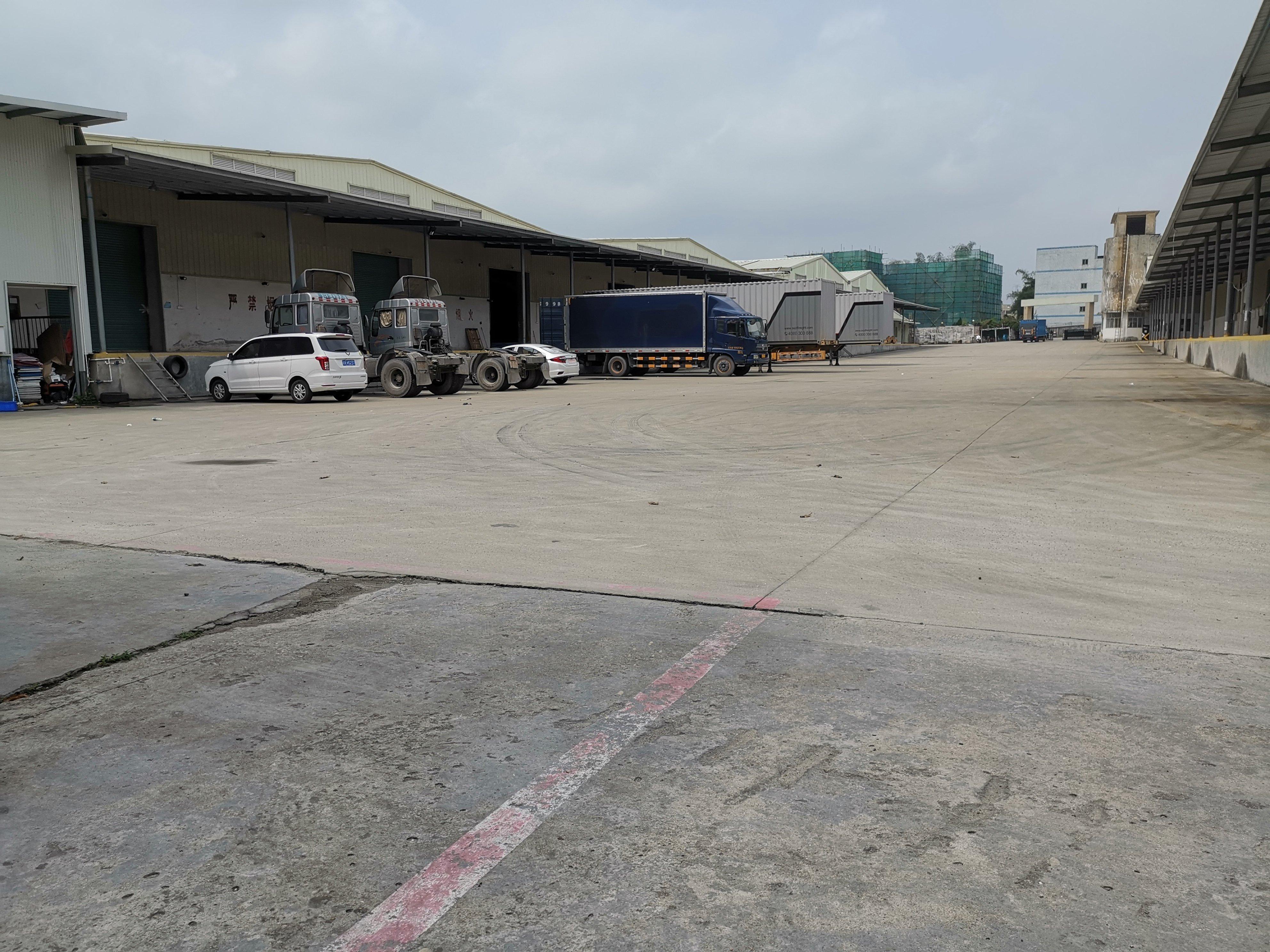 横岗物流仓库7000平出租高度8米卸货平台长度140米报40