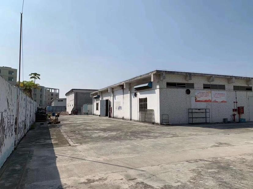 独院红本厂房,空地超大,原房东,层高6米,可做废品打包,污染
