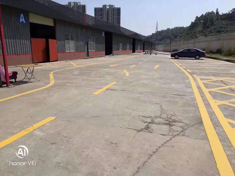 坪山石井南坪快线出口附近5000平米钢构仓库出租