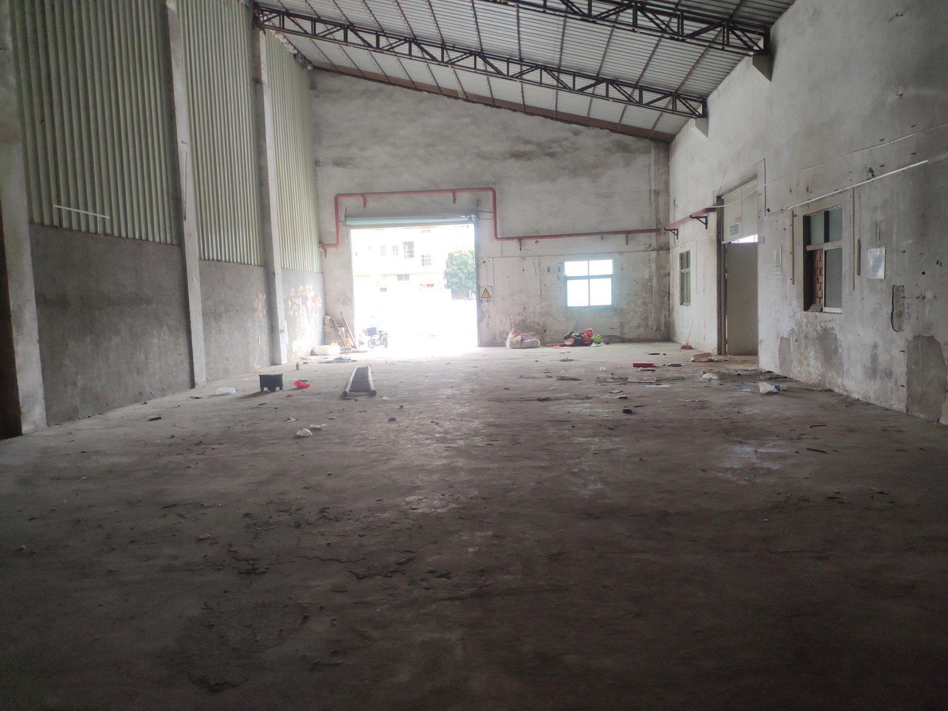 龙岗坪地新出一楼钢构厂房面积480㎡可做五金,仓库