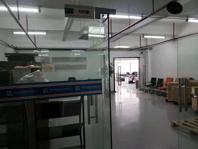 龙华清湖主干道边上精装修400平方厂房招租-图2