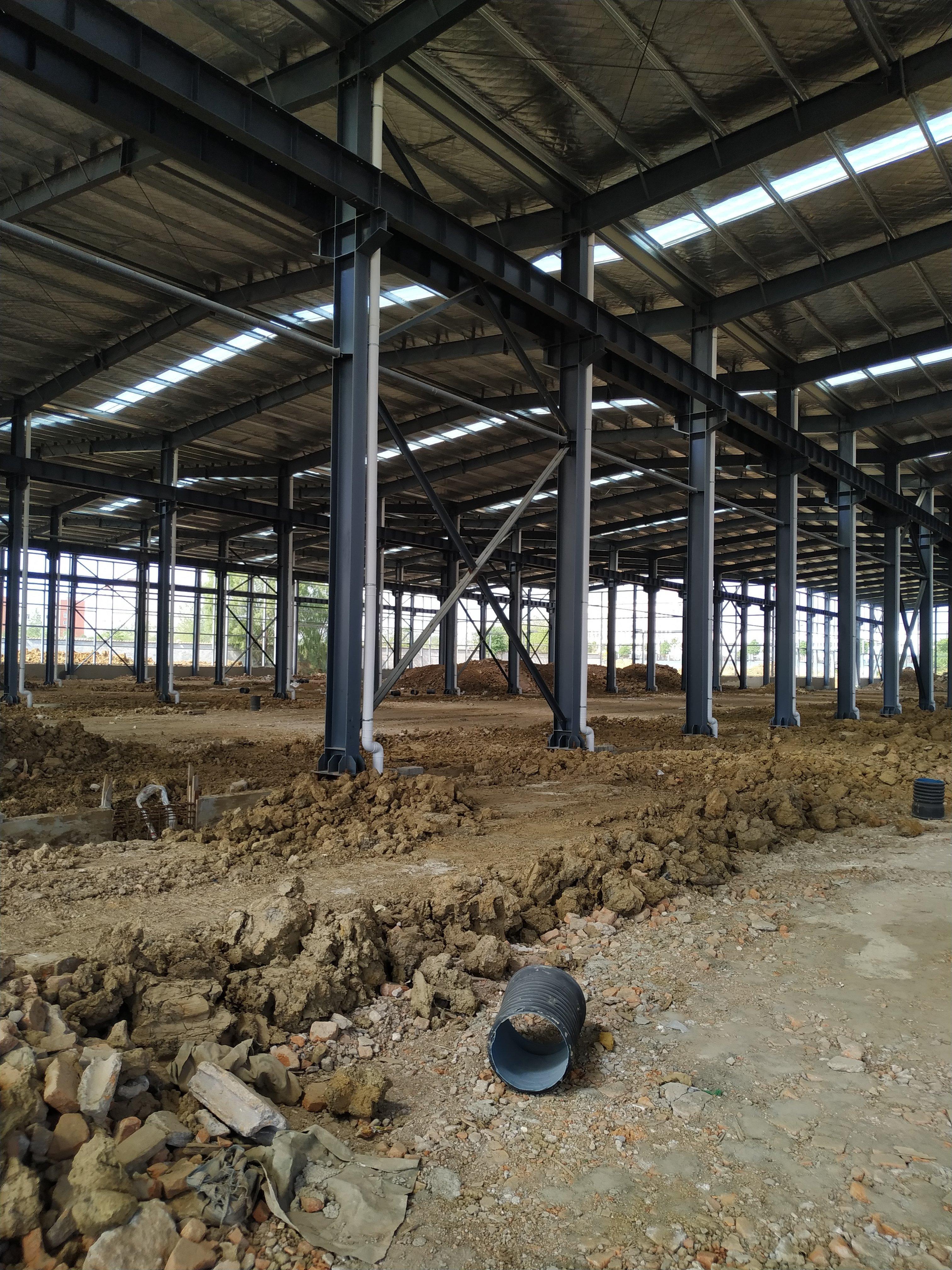 全新钢结构厂房,开发商直售!