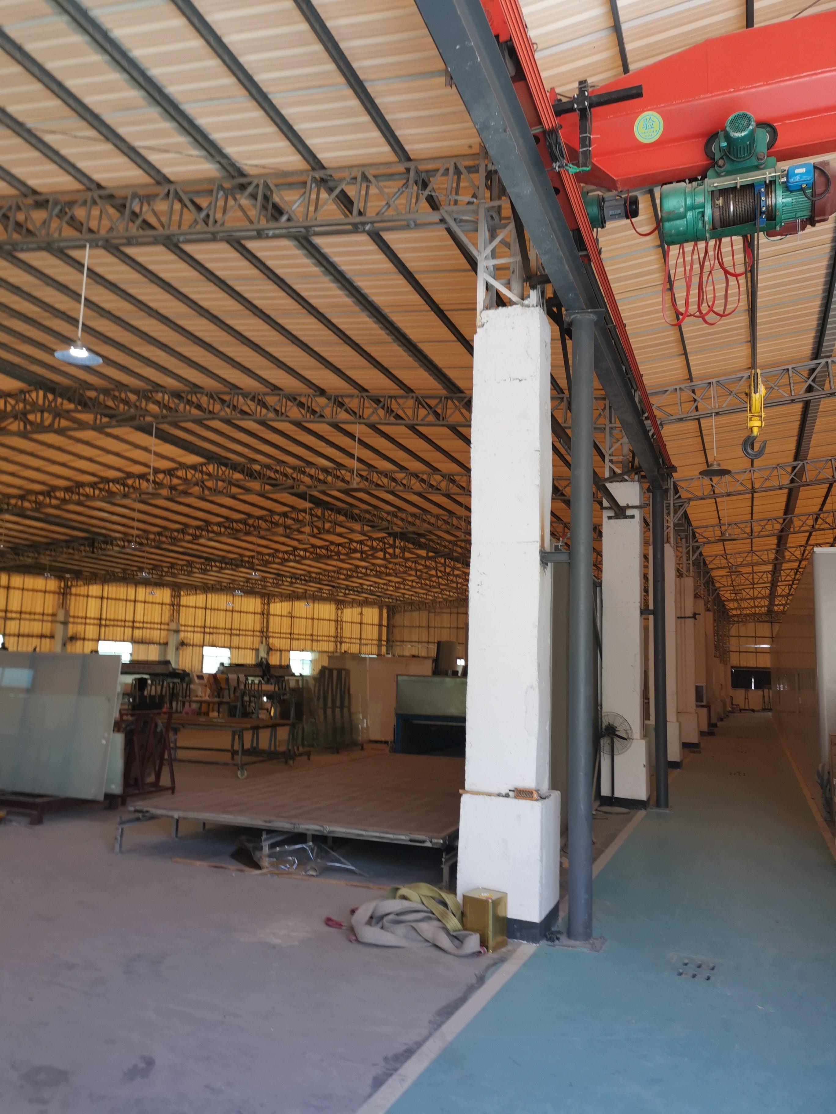 临深钢结构厂房,占地8000建筑7500,售价1500万
