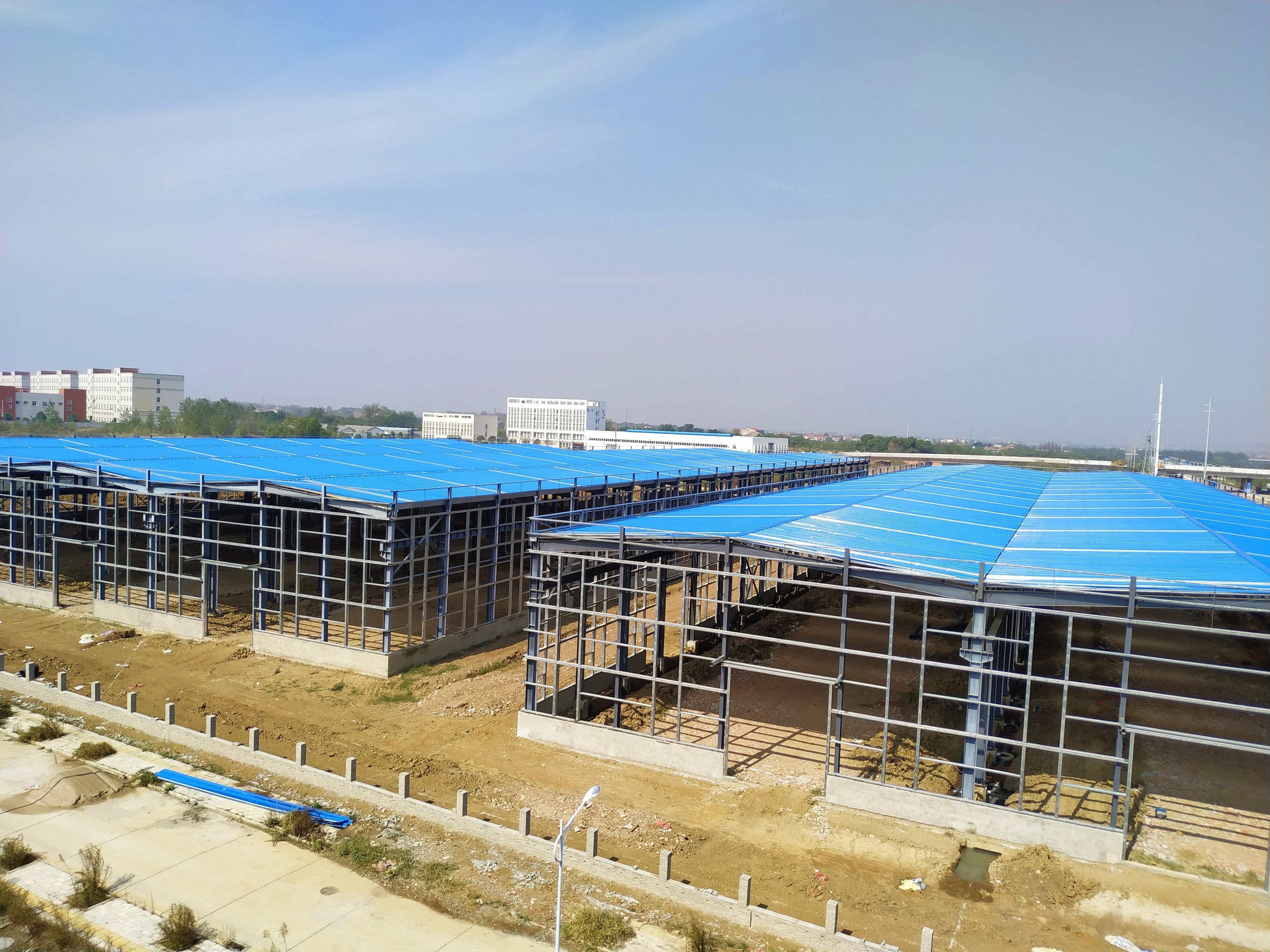 全新钢结构12米层高厂房,可办证