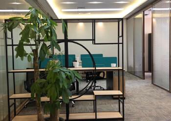 免佣出租横岗地铁口195平豪华装修带隔间办公室图片1