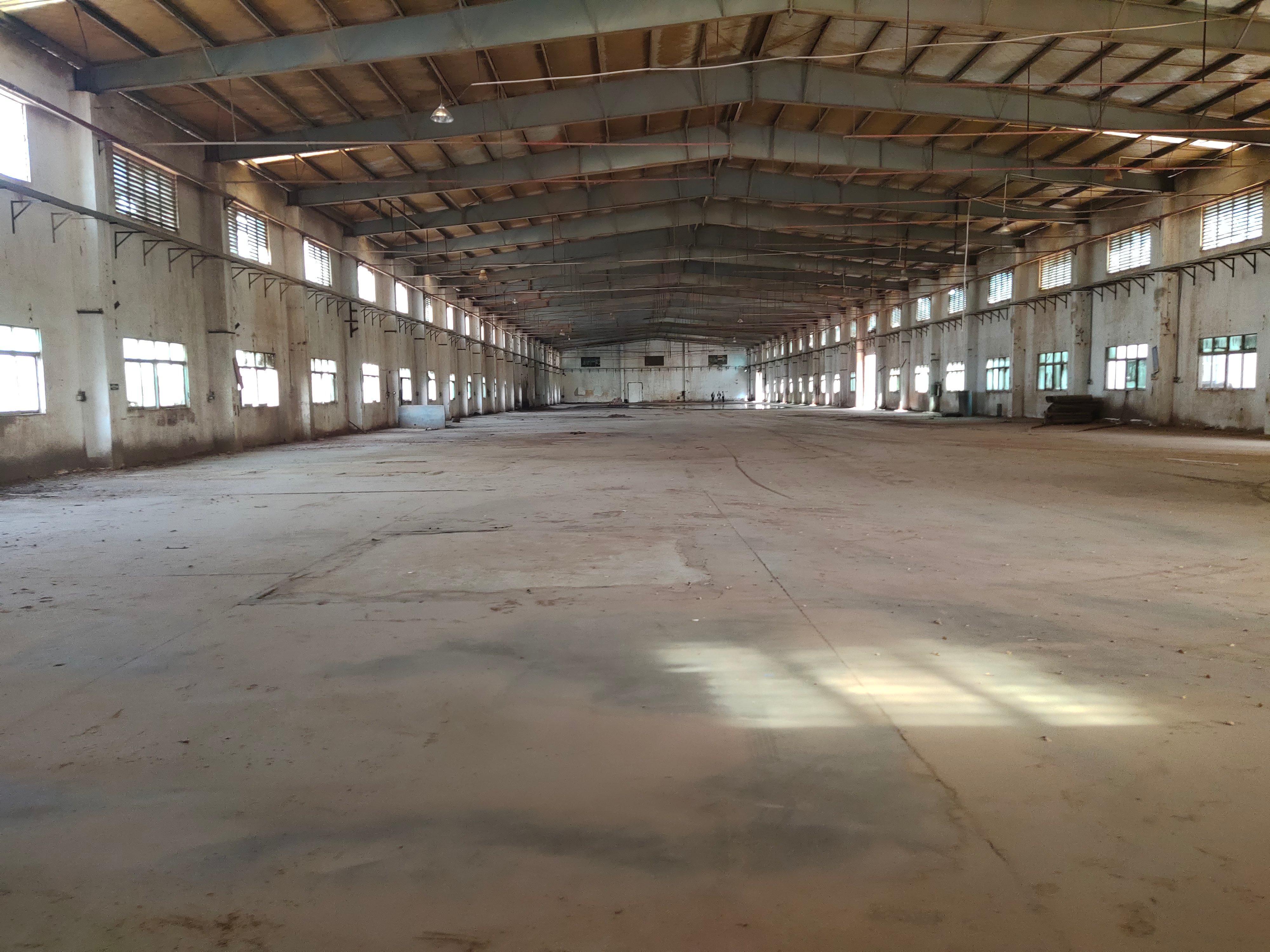高埗环城路以外独门独院单一层厂房面积12000平滴水8米可环