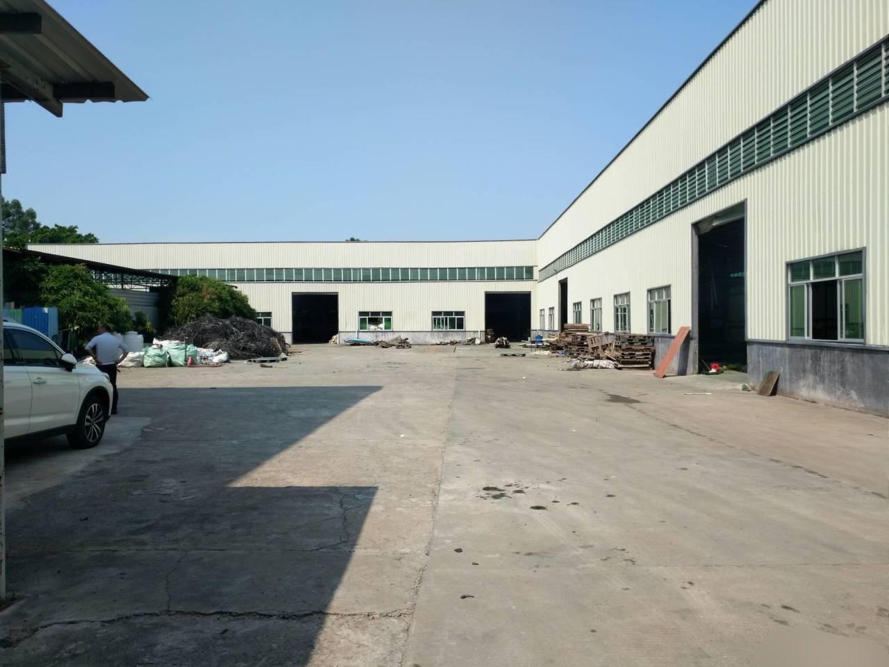 (原房东)新出独院单一层钢构厂房车间面积:1350平