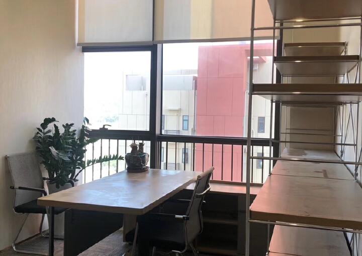 免佣出租横岗地铁口195平豪华装修带隔间办公室图片7