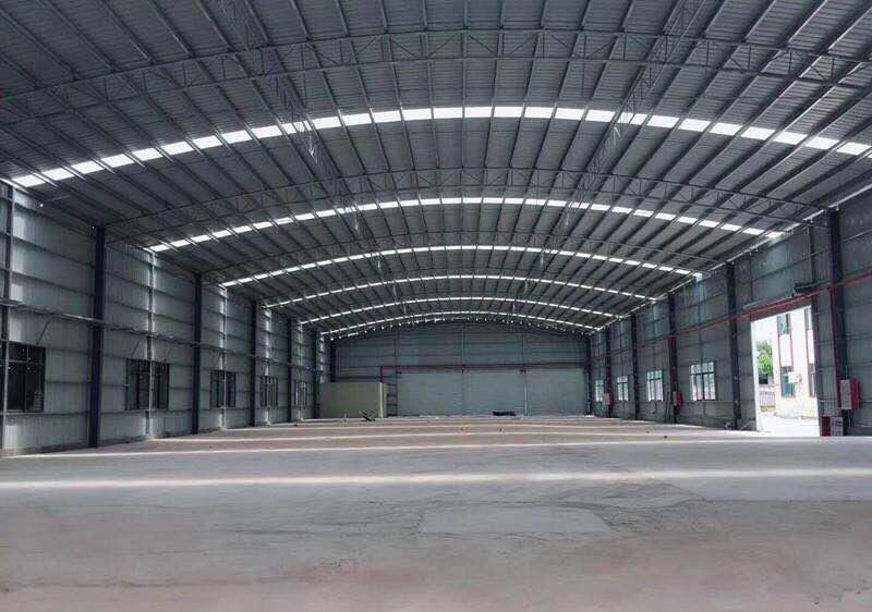 狮山镇罗村全新单一层,滴水9米,高标钢构,带现成装修办公室-图2