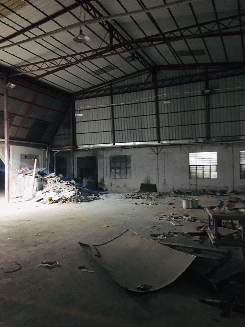 横岗安良实际面积厂房钢构1500平空地大可以做生产修车等重工