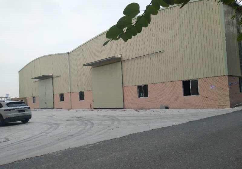 狮山镇罗村全新单一层,滴水9米,高标钢构,带现成装修办公室