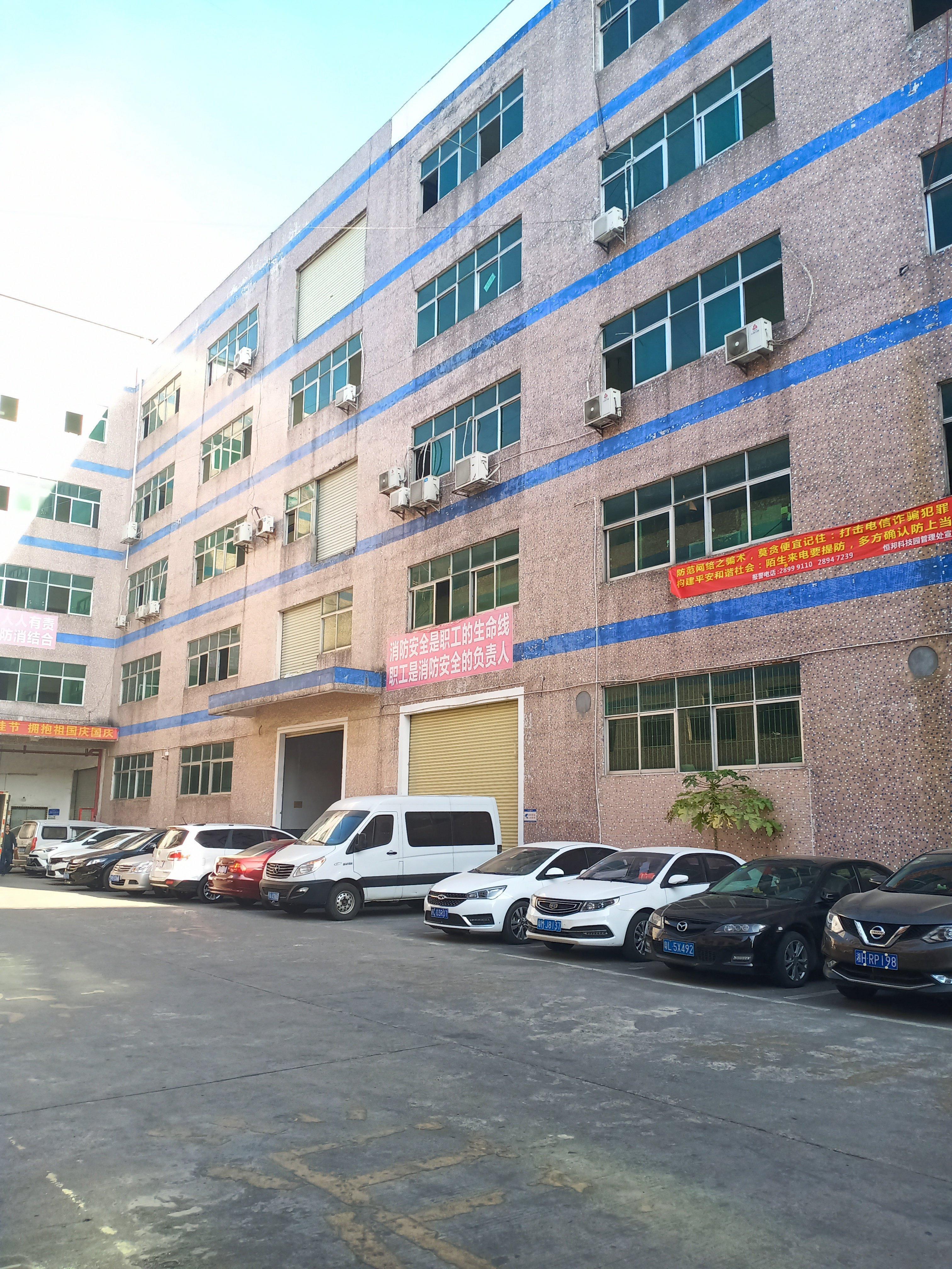 龙岗嶂背新出楼上150平带精装修厂房出租