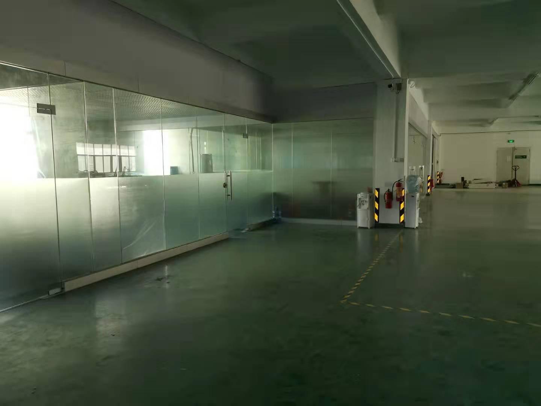 福永塘尾松福大道旁边新出厂房1350平带精装修不要转让费