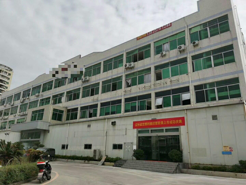 龙华区双主干道边工业园区厂房仓库出租,面积2000平可分租