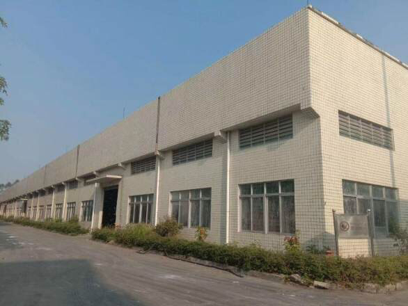 江门鹤山大型工业区内独院带牛角单层钢构厂房28800平出租