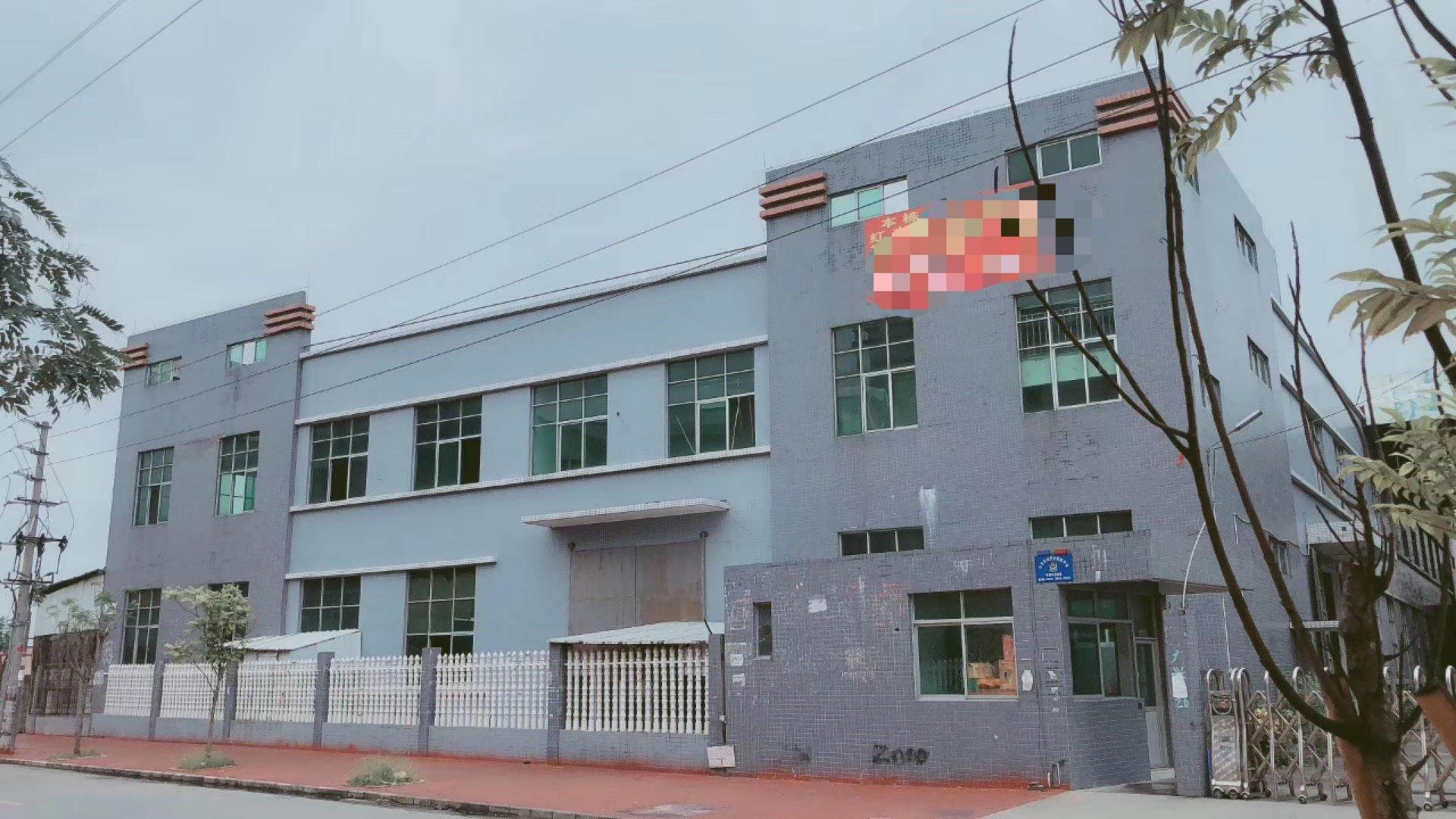中山市黄圃镇,红本厂房剩余一楼3100平方,可分可办证