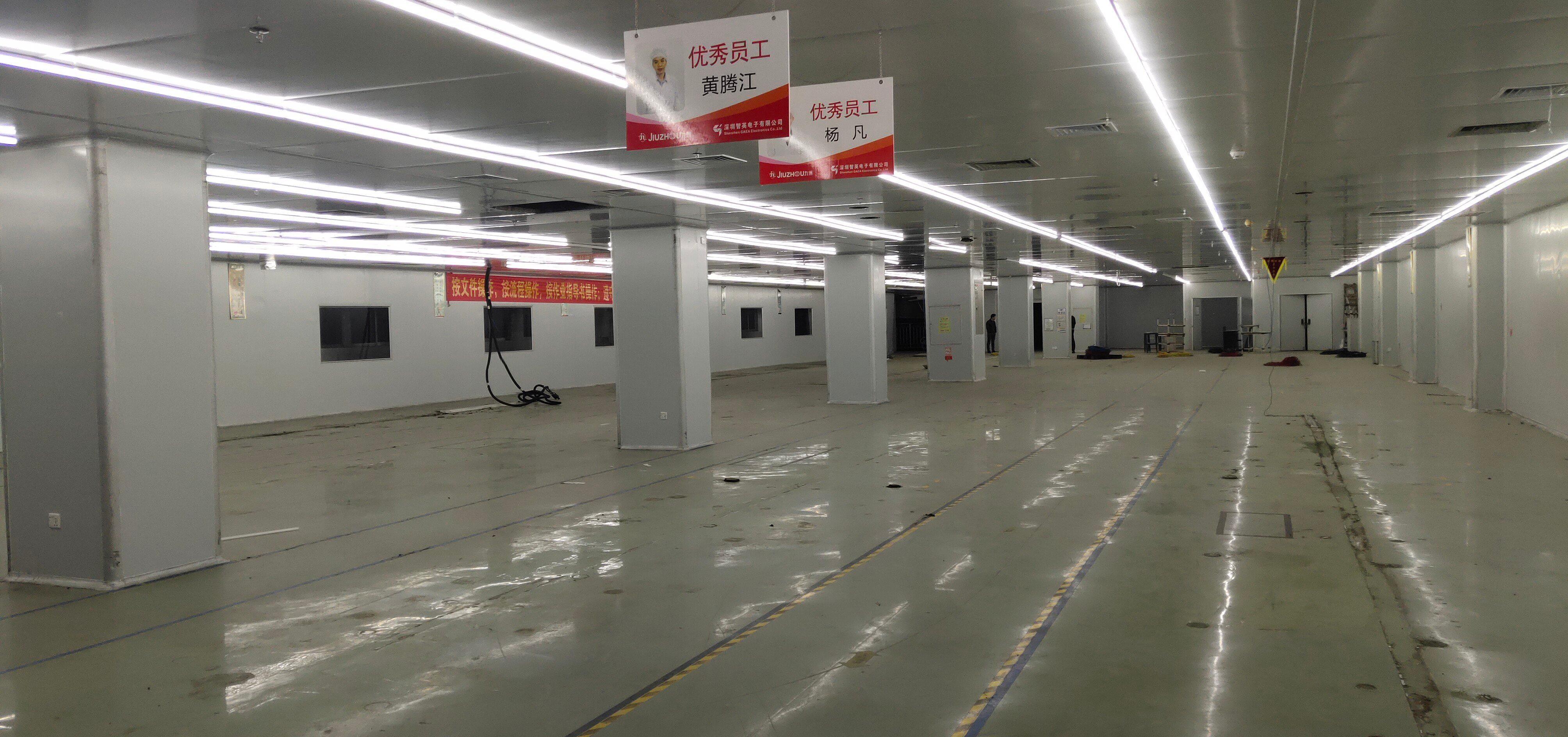 福永镇靠近沙井楼上1500平米无尘车间出租!-图2