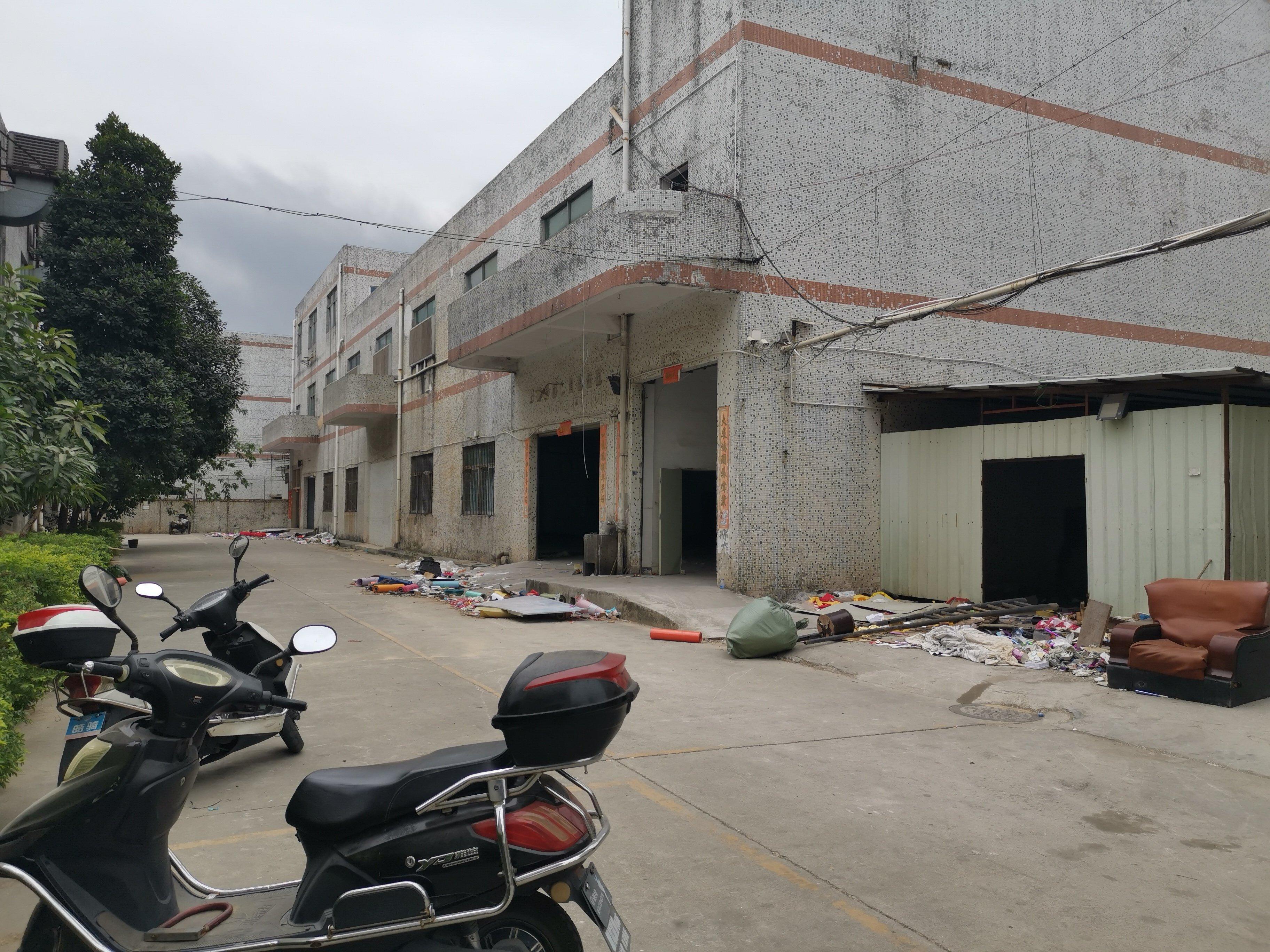 松岗燕川广田路附近原房东独院两层半3000平方花园式独院出租