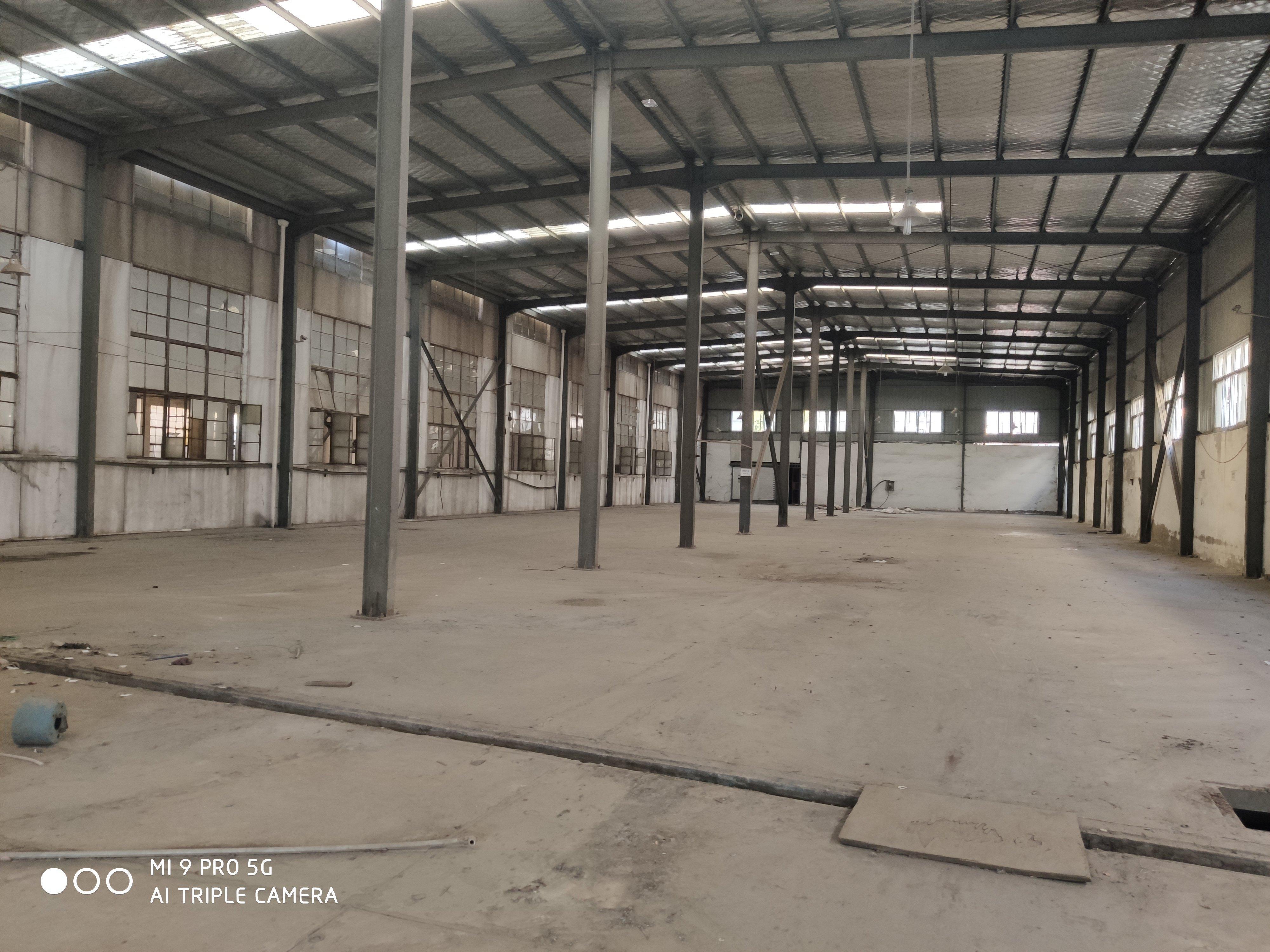 盘龙城钢构一楼3800平米可分租,高9米,羽毛球,蓝球均可-图3