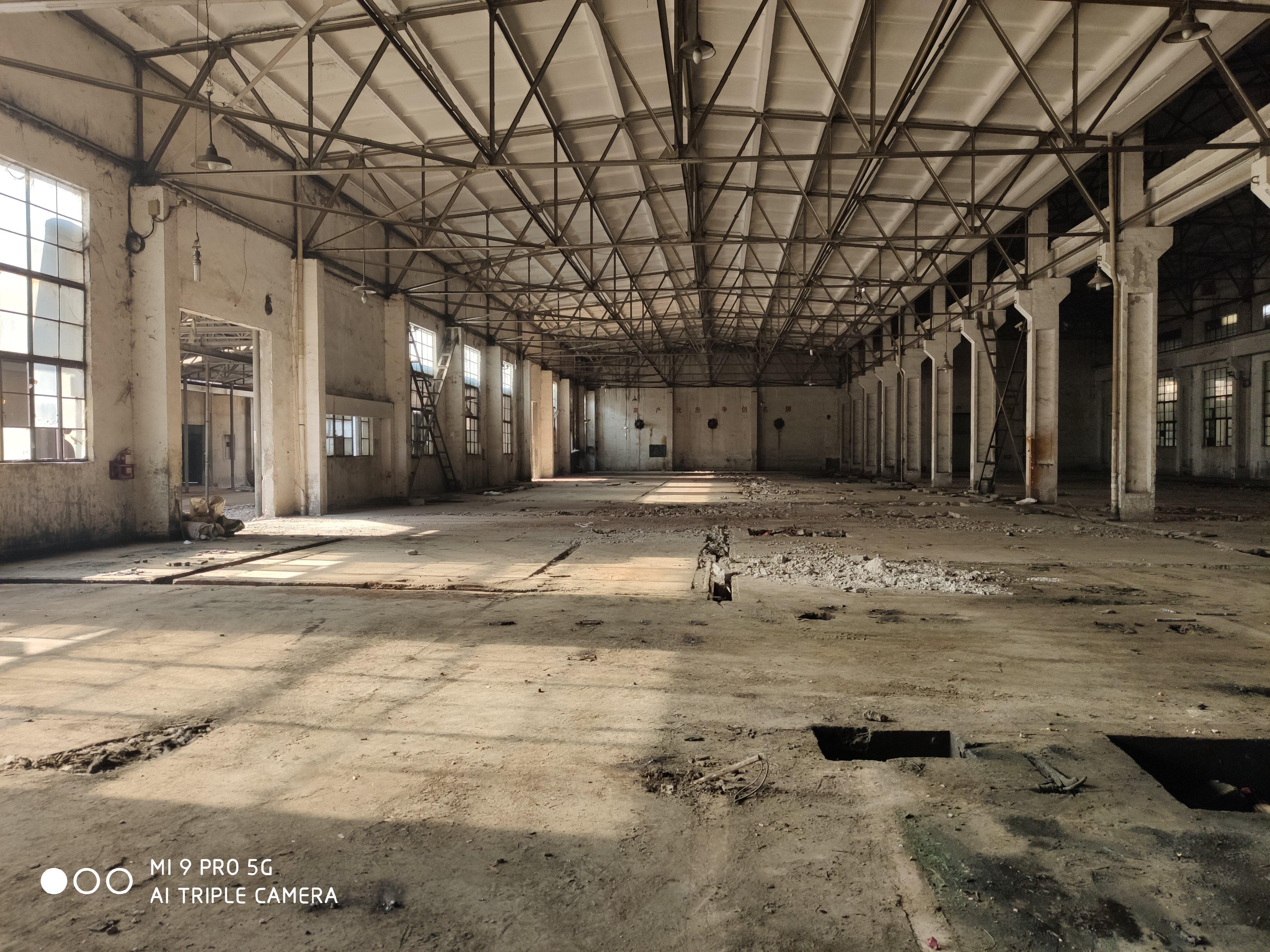 盘龙城钢构一楼3800平米可分租,高9米,羽毛球,蓝球均可-图2