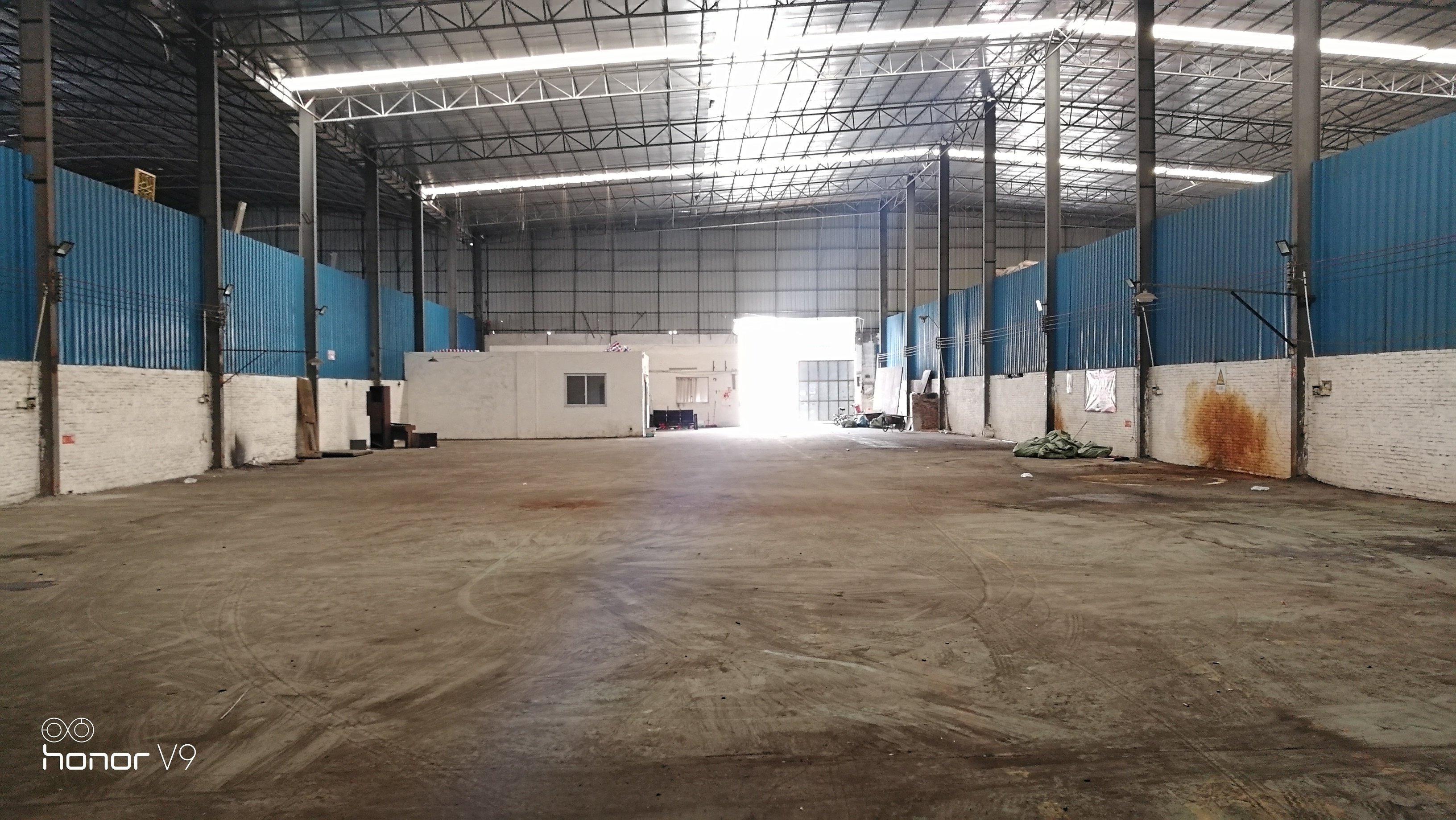 大沥镇原房东独门独院单一层滴水12米600方厂房出租-图3