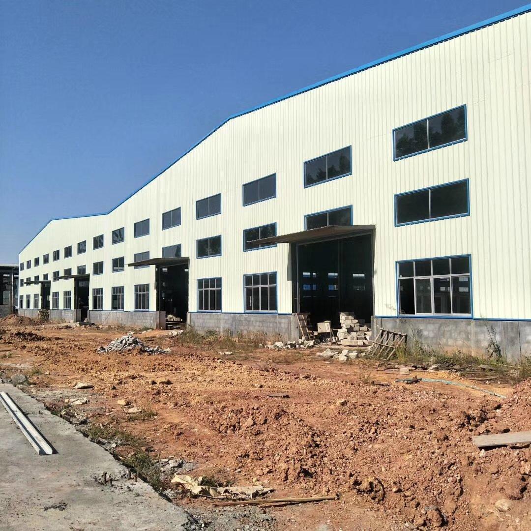 博罗独院钢构厂房面积8800平方牛角位6.5米证件齐全带消防