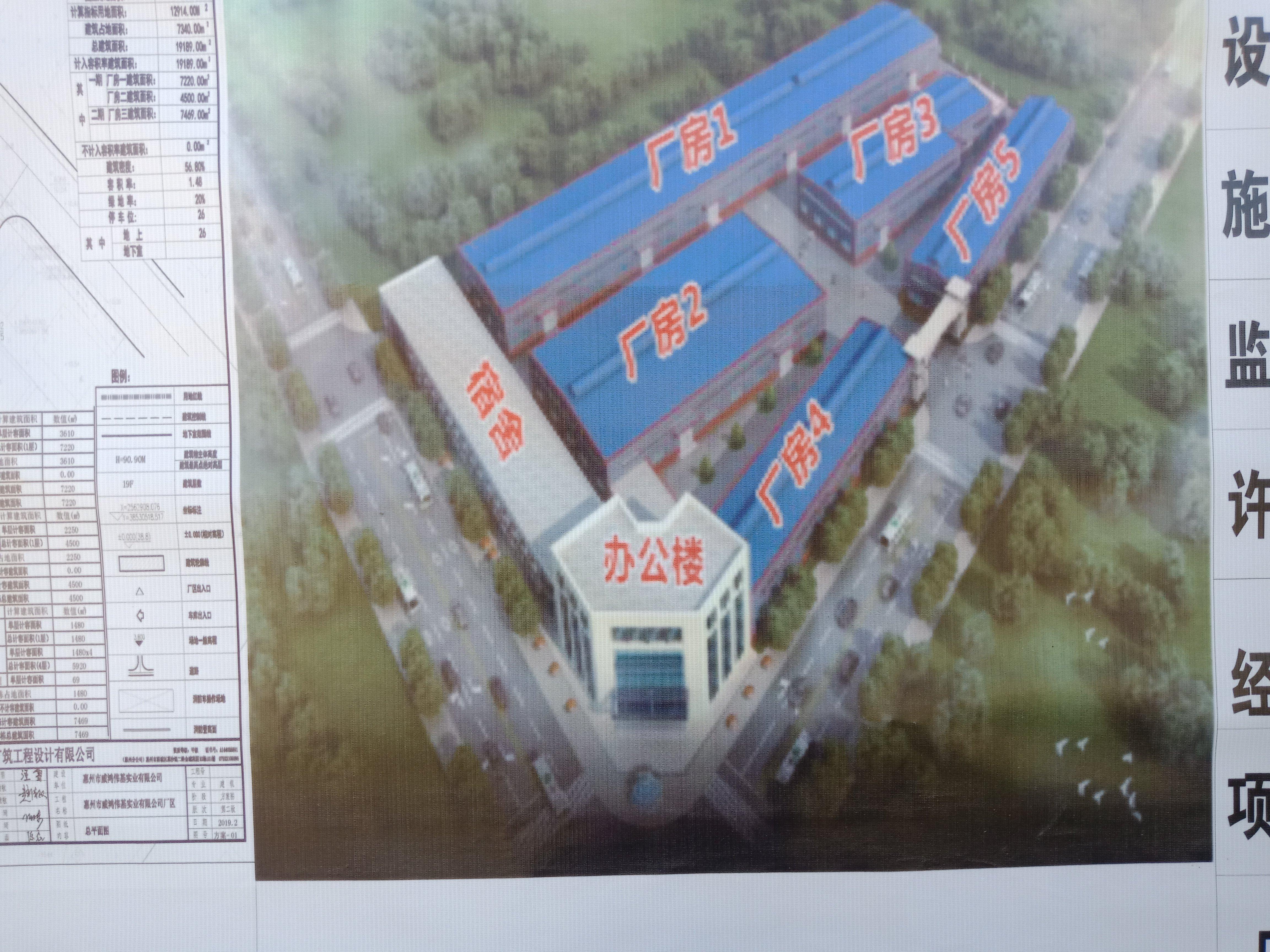 惠州博罗龙溪镇原房东独院厂房8000空地10000滴水九米