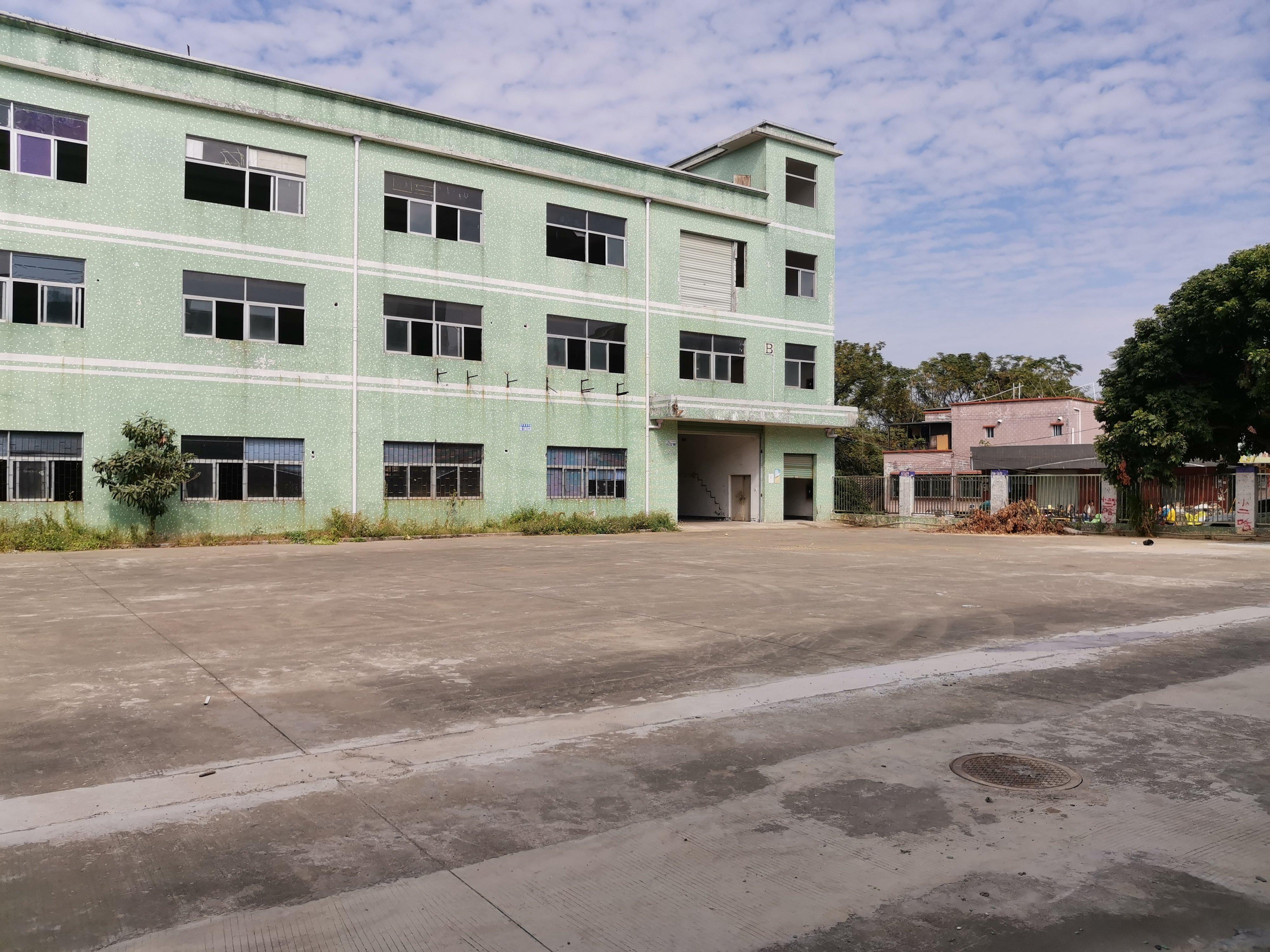 仲恺高新区占地1600建筑800国有证工业厂房出售