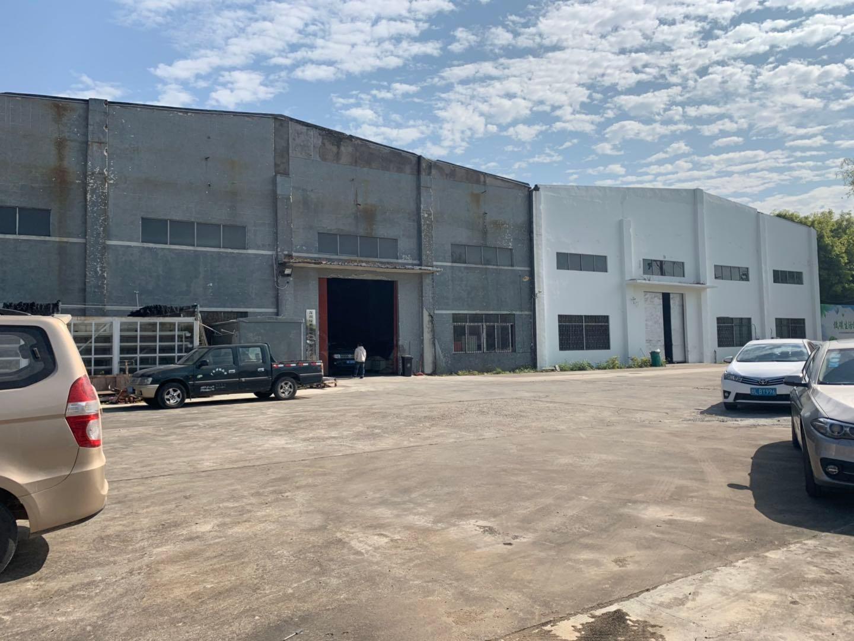 坪山石井原房东独院钢构厂房1300平米出售现成行车水电到位