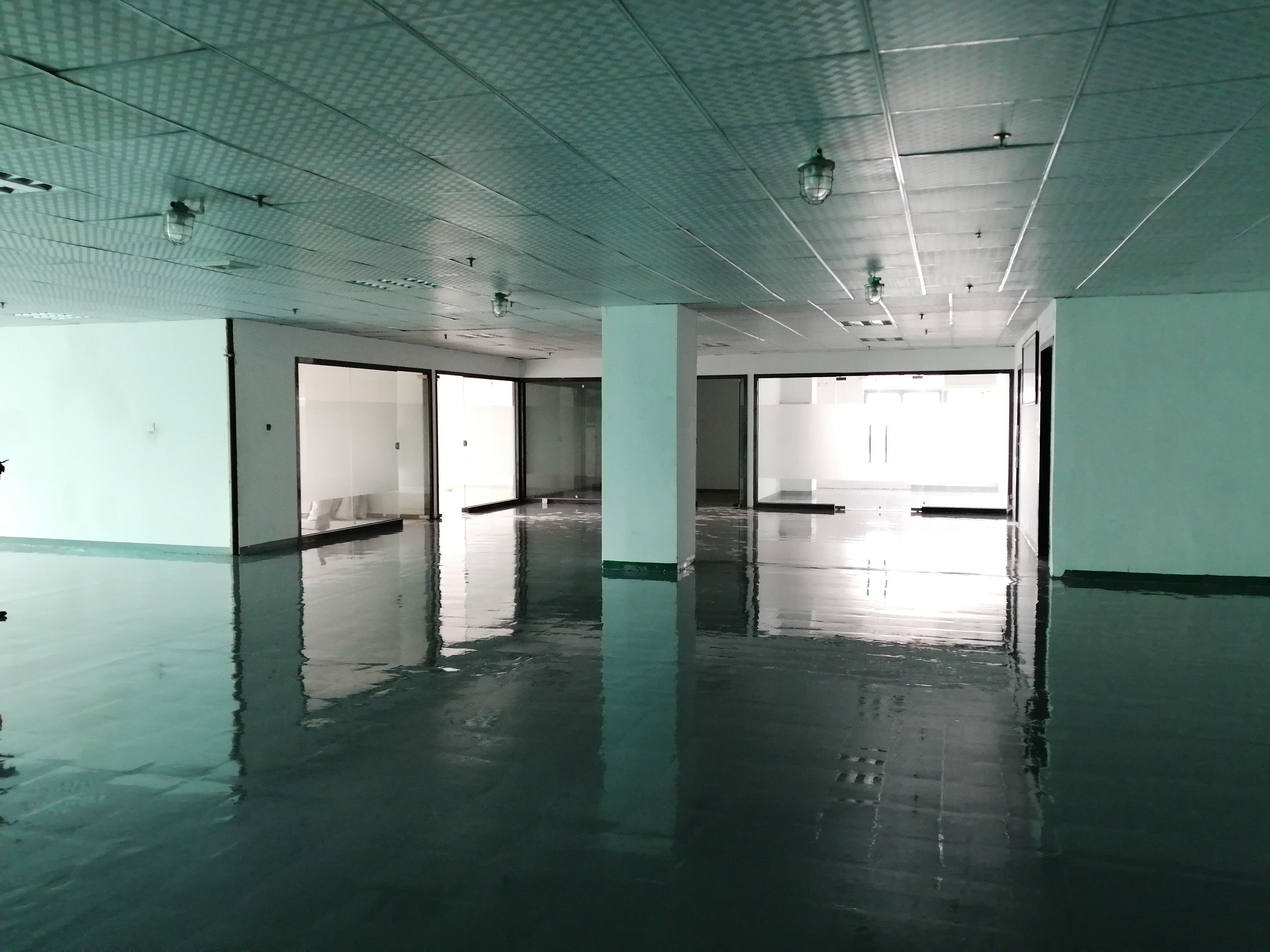 福永会展中心附近高新产业园区楼上450平豪华装修厂房出租-图2