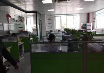 龙华龙胜地铁口和平路楼上新出750平标准厂房格局精装修图片2