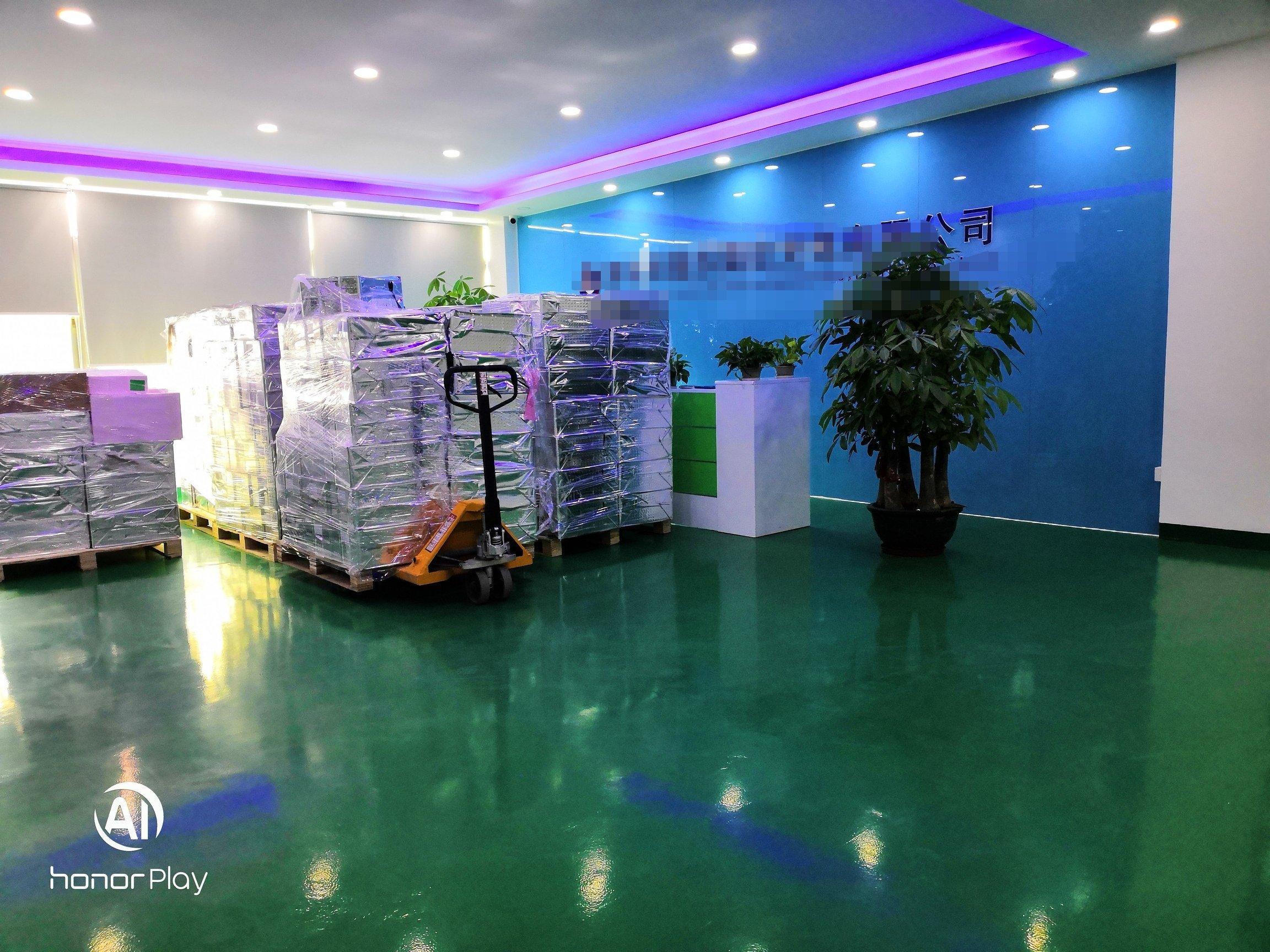 福永塘尾原房东楼上整层1470平全新豪华装修带无尘车间招租