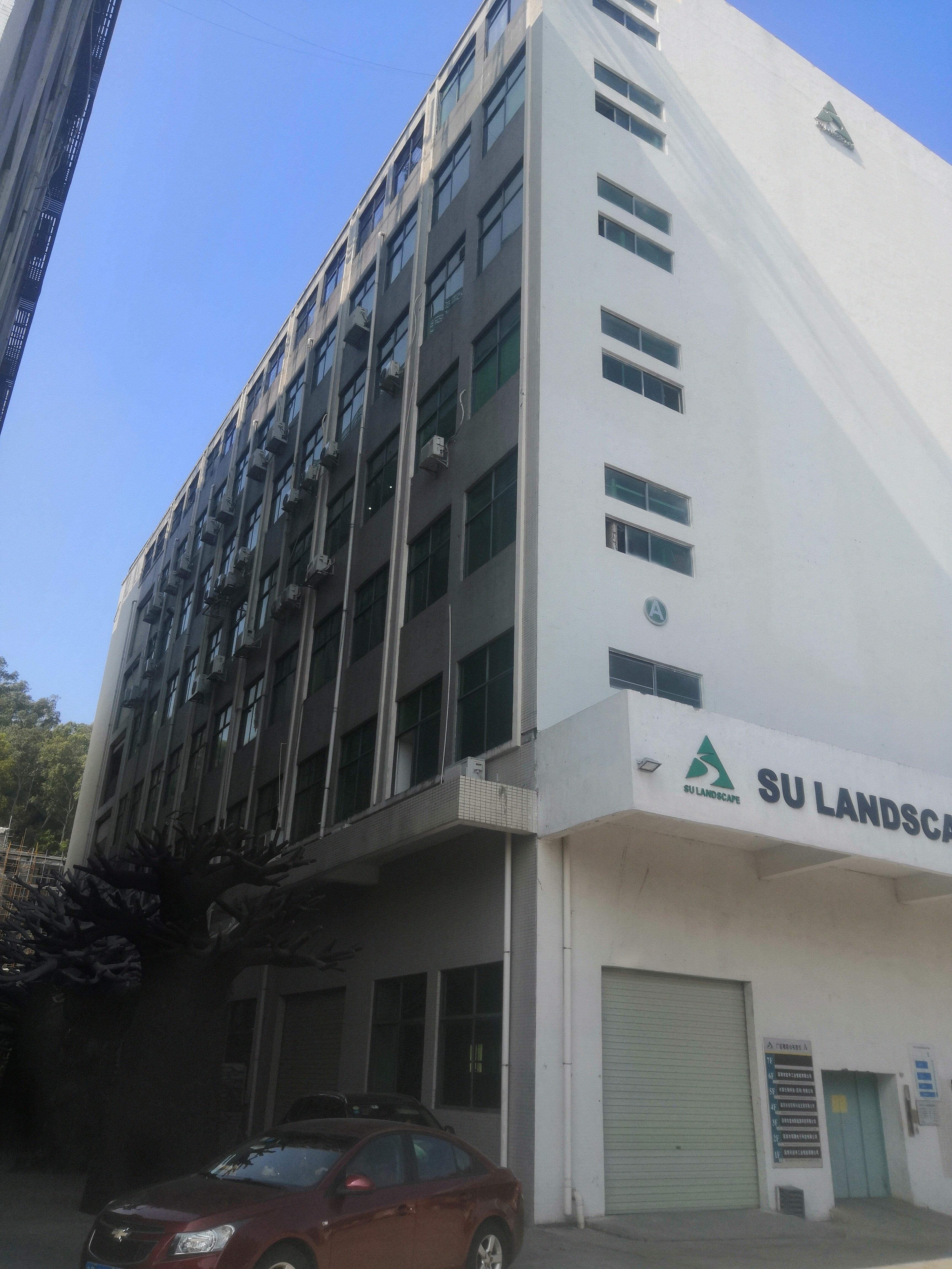 石岩南光高速新出原房东楼上整层1280平米厂房出租